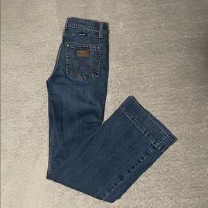 Wrangler jeans size 14 slim